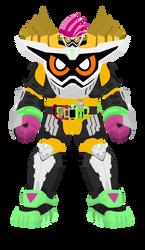 Kamen Rider Ex-Aid Lv99 Maximum Mighty X by raidenzein