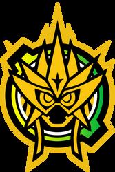 Gashat Hyper Muteki Logo by raidenzein