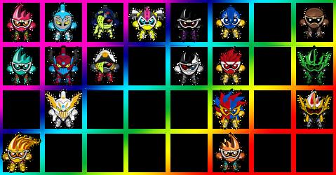 Kamen Rider Ex-Aid All Mightys
