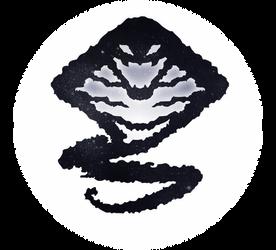 Uchu Sentai Kyuranger Hebitsukai Silver Symbol