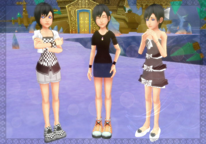 Xion model pack by Kohaku-Ume