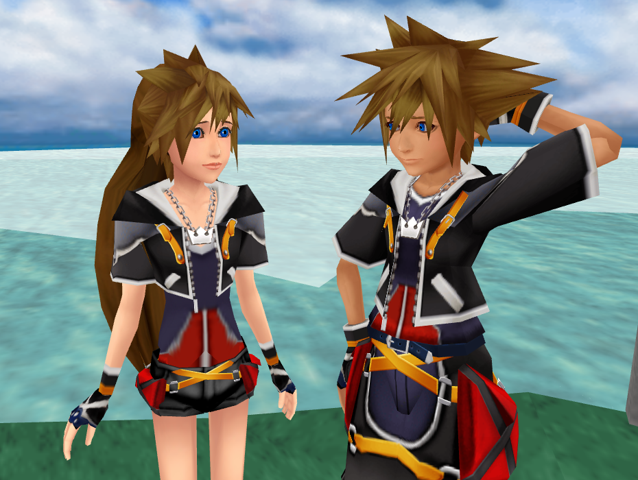 Fem!Sora PREVIEW by KohakuUme6