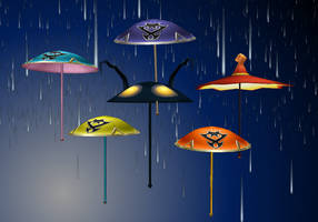 KH umbrellas by Reseliee