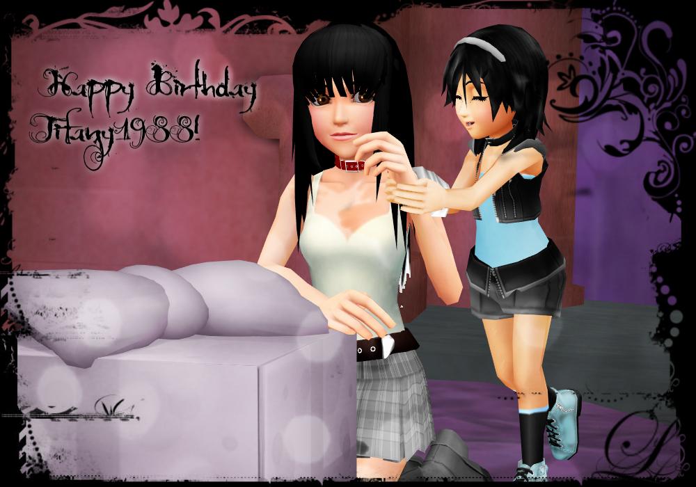 Happy Birthday Tifany1988! by KohakuUme6