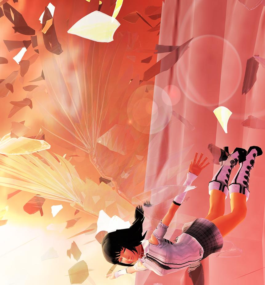The angel has taken flight by KohakuUme6