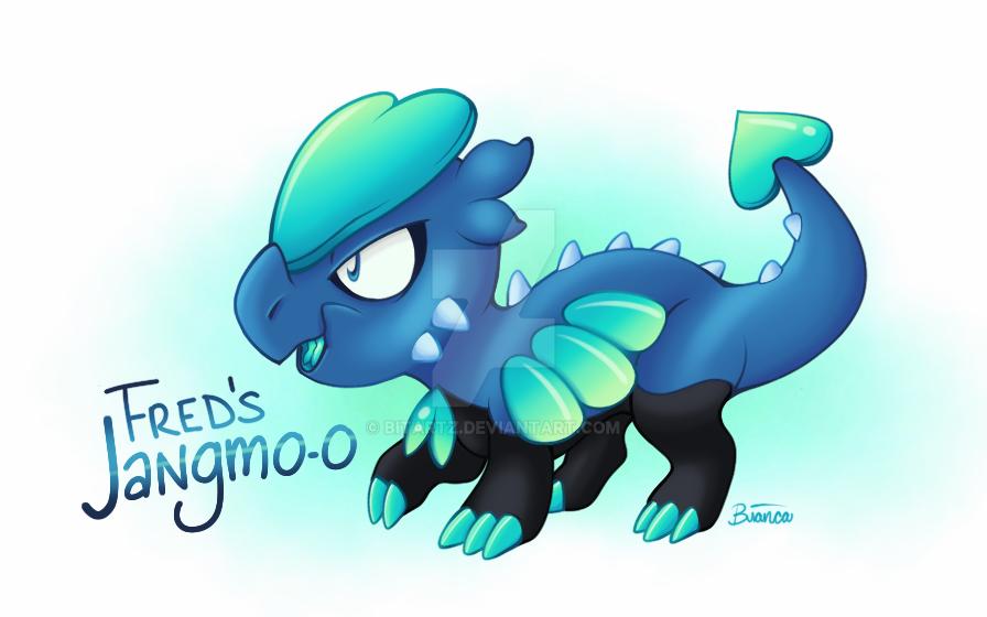 Fred's Jangmo-o by BITARTZ