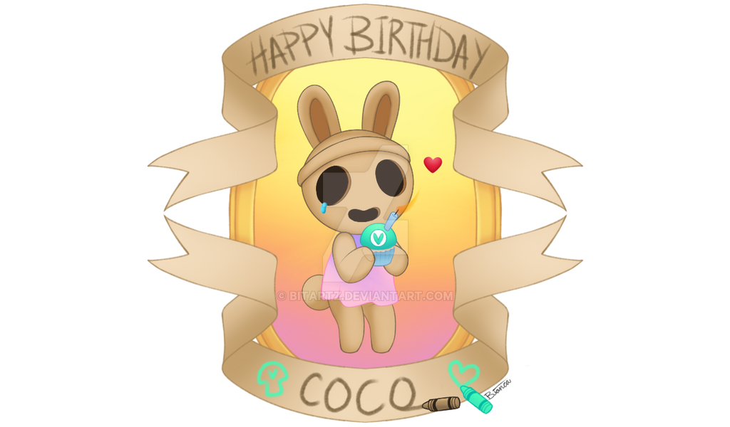 Happy Birthday Coco! by BITARTZ