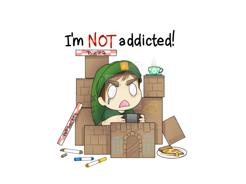 I'm NOT addicted! by BITARTZ
