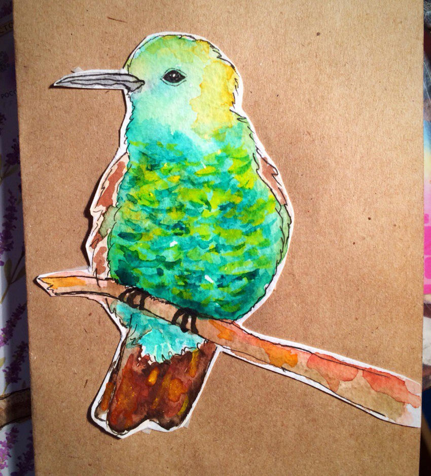 Hummingbird by NorthernLantern