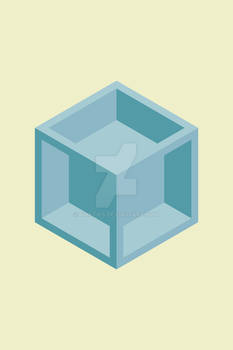 3d Blue Box