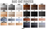 Base Modifier: Ashen / Dilute