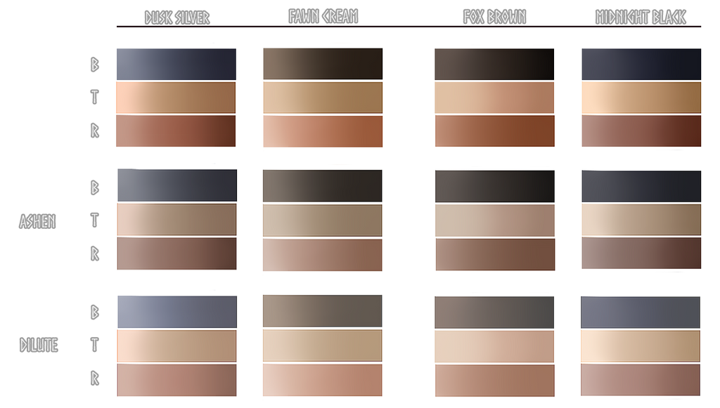 Specialty Point Swatches by TheNook