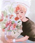 Flower Seokjinnie by Noquelle