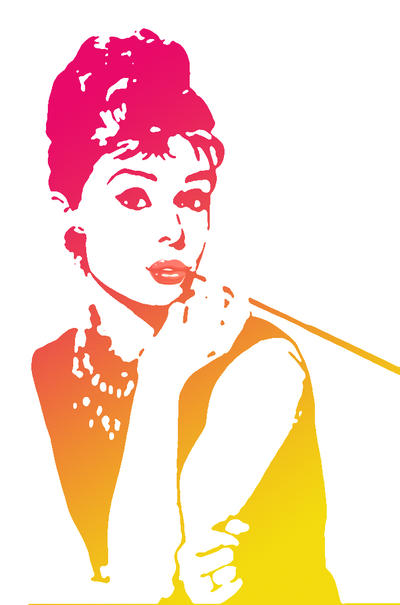 Audrey Hepburn by santa-qween