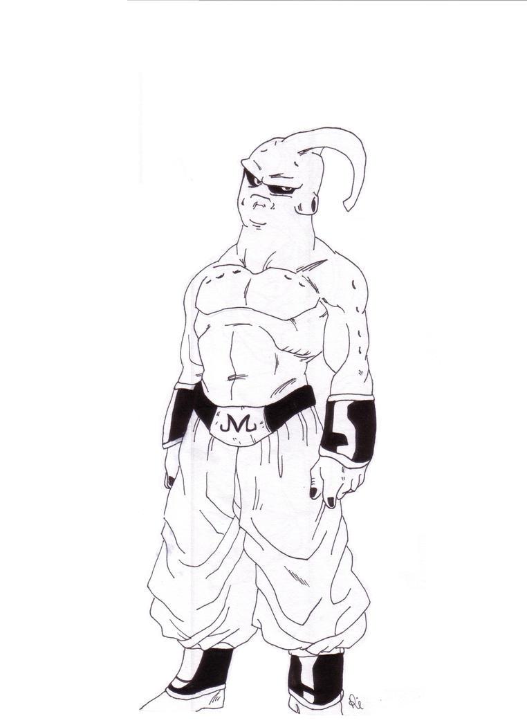 Dibujos Para Colorear De Dragon Ball Z Majin Boo ~ Ideas Creativas ...