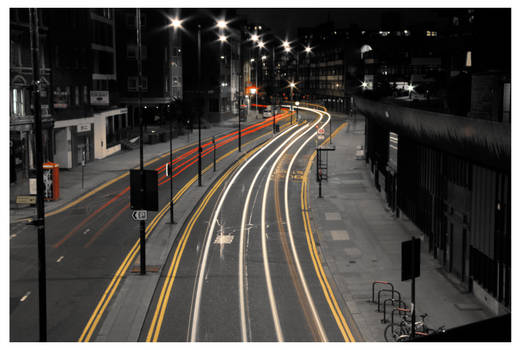 Light Trail 03 by aaron-thompson