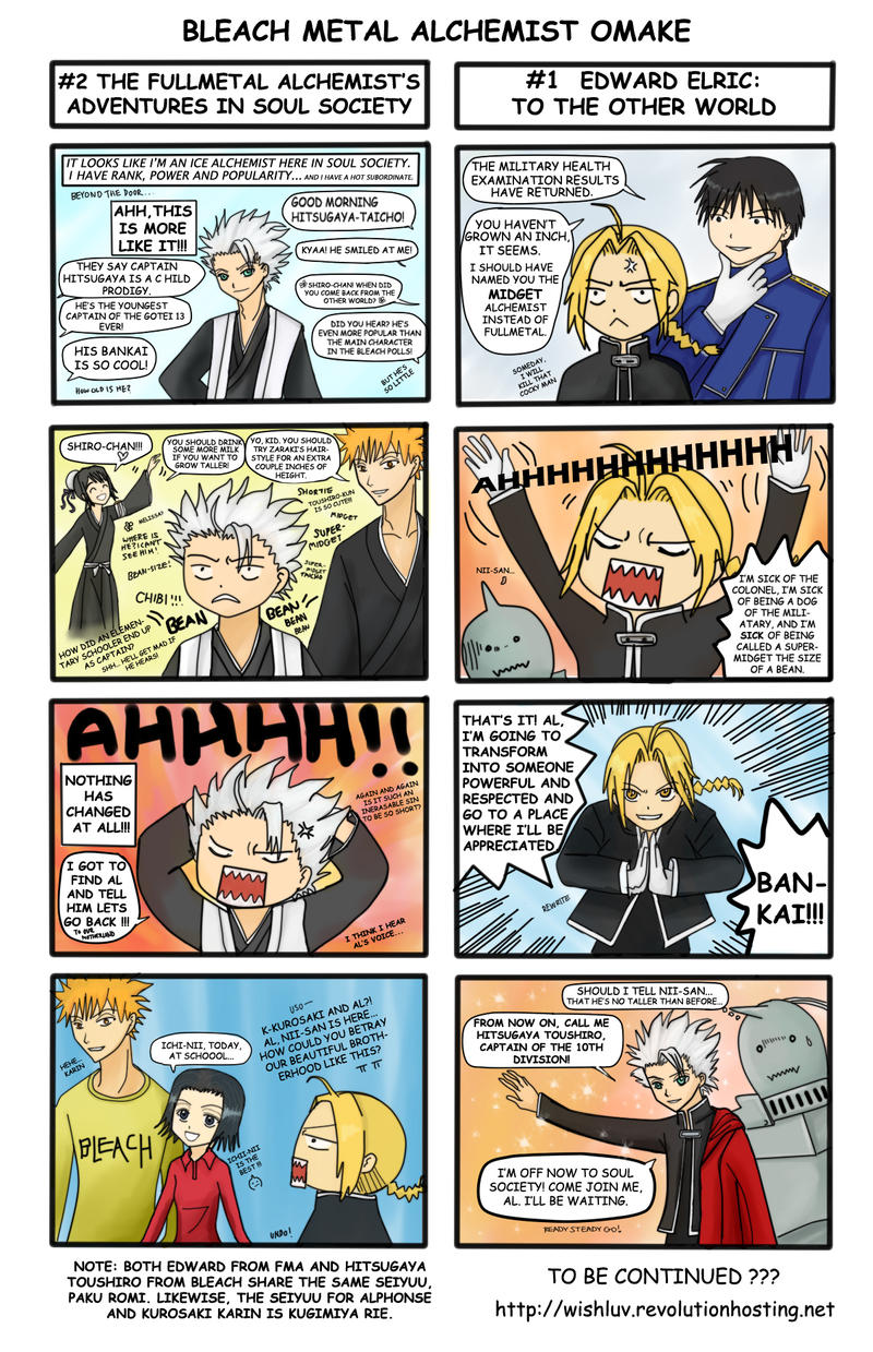 Bleach Metal Alchemist Omake by wishluv
