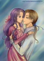 Nadeshiko and Li Ryuuren by wishluv