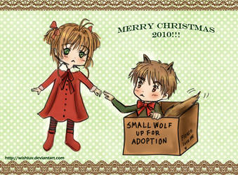 Sakura's Christmas Gift by wishluv