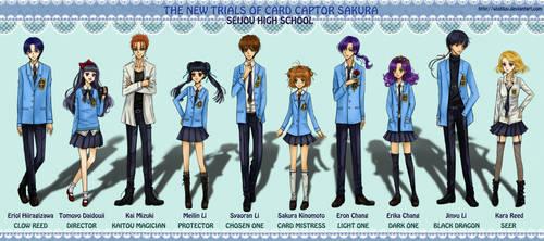 Card Captor Sakura: Seijou High School Ensemble by wishluv