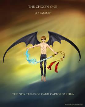 Chosen One Li Syaoran with Dragon Wings