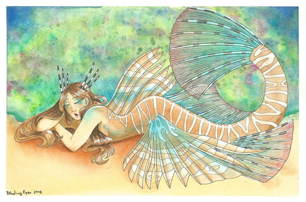 Mermay 2018 day 5: Exotic by bloodingeyes