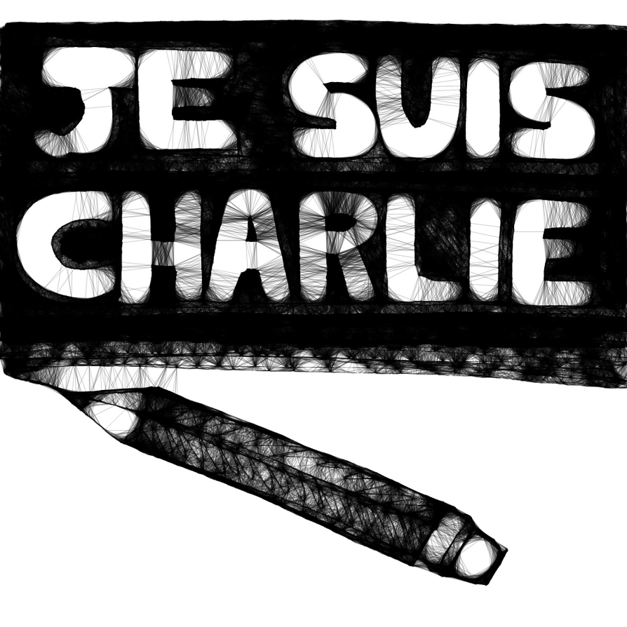 Je Suis Charlie by DabyHedgehog