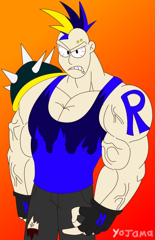 Roy the street punk (design idea) by Yojama