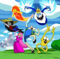 Adventure Time by Yojama
