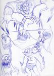 Monsters by Yojama