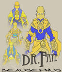 DR. FATE - REDESIGN IDEAS