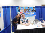 Me and J. Michael at Indypopcon 19' by Andreasantoni