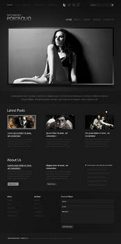 Photographers Portfolio Popular WordPress Theme