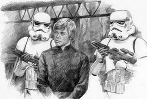 The arrest of Luke by Loye