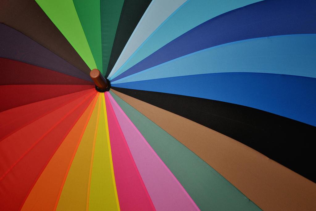 Rainbow Umbrella by TeKNoMaNiaCH
