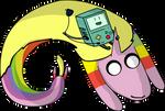 Adventure Time Lady Rainicorn and BMO