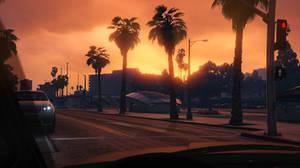 GTA 5 - Rockford Hills Sunset by MaisyDaydream