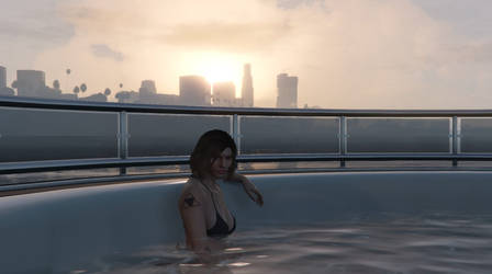 GTA Online - An Evening on the Yacht #1