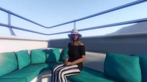 GTA Online - An Evening on the Yacht #2 by MaisyDaydream