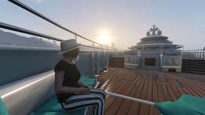 GTA Online - An Evening on the Yacht #3 by MaisyDaydream