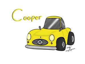 Choro-Q Cooper - (Birthday Gift)