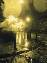 Leith walk by night