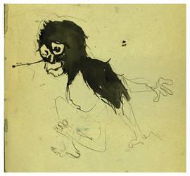 A little monkey by ed-amone