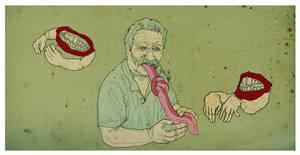 The tongue ties knots..... by ed-amone