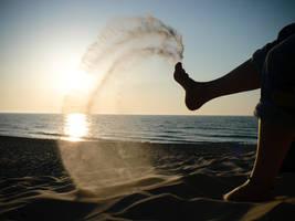 Sand Kick by Virfir