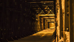Bridge at night II by Virfir