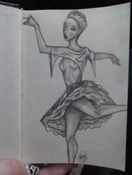 Ballerina by BLooD-LuSt-GIRL