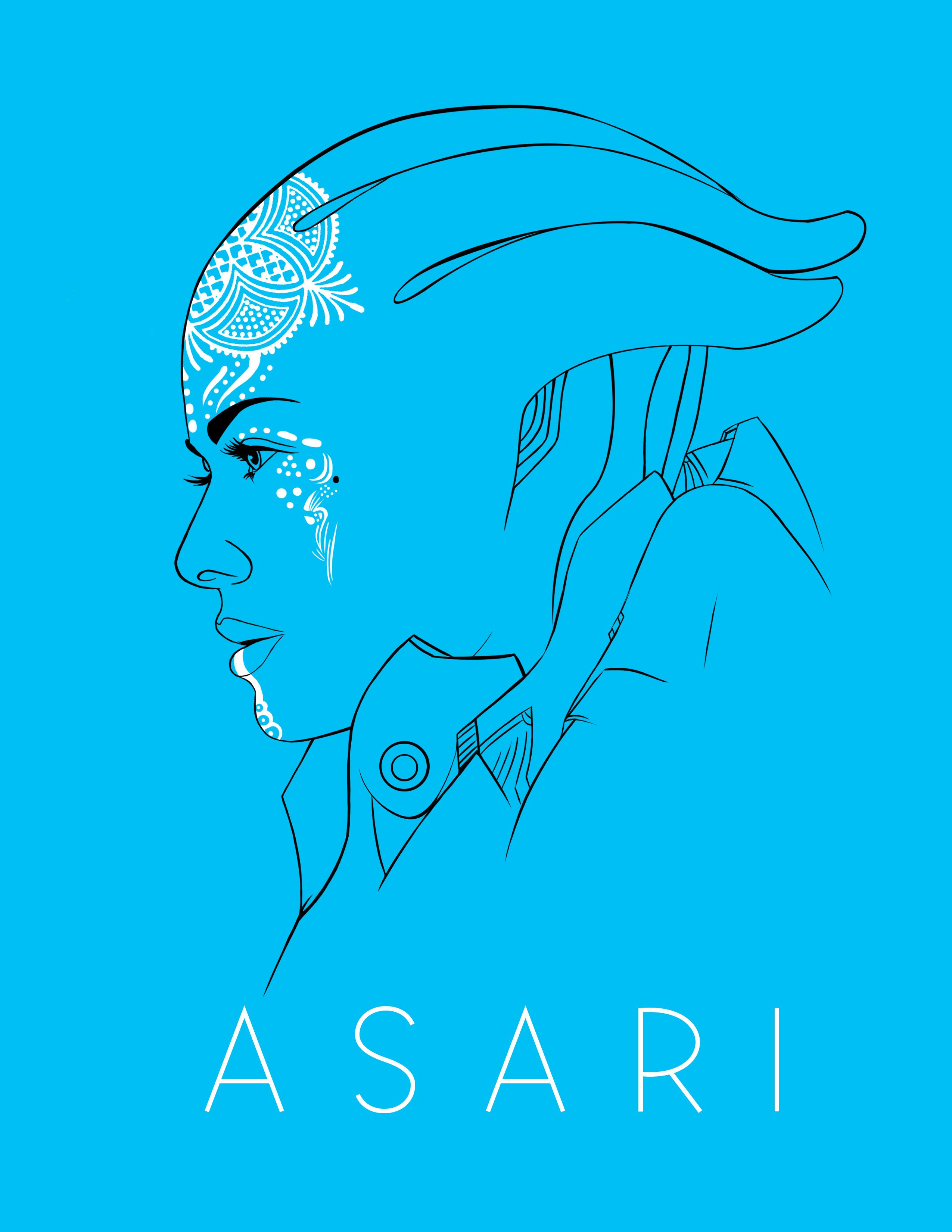 Asari by trpbootan