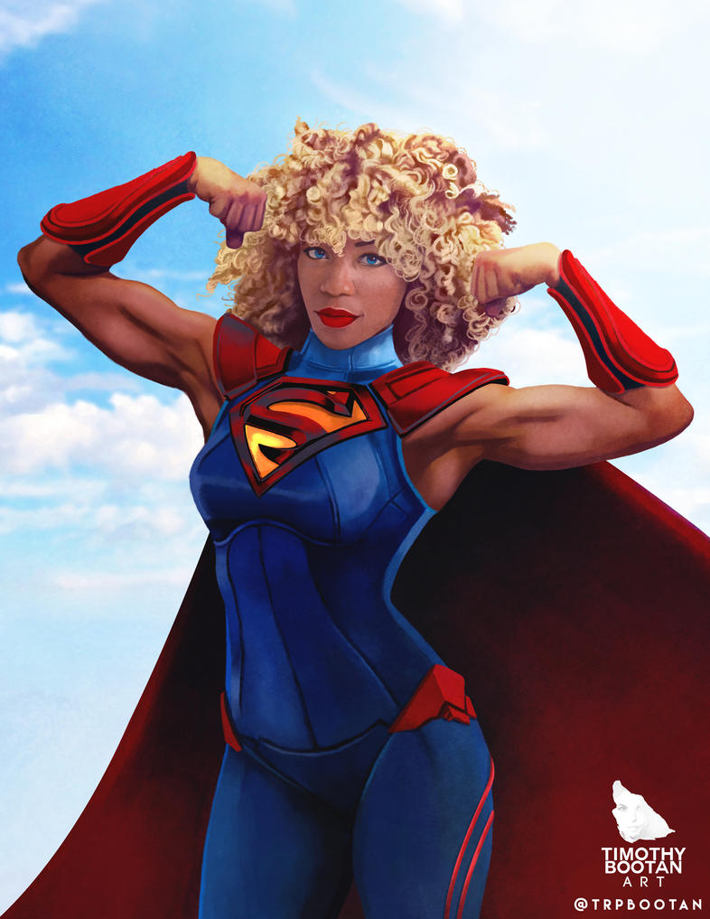 Supergirl by trpbootan