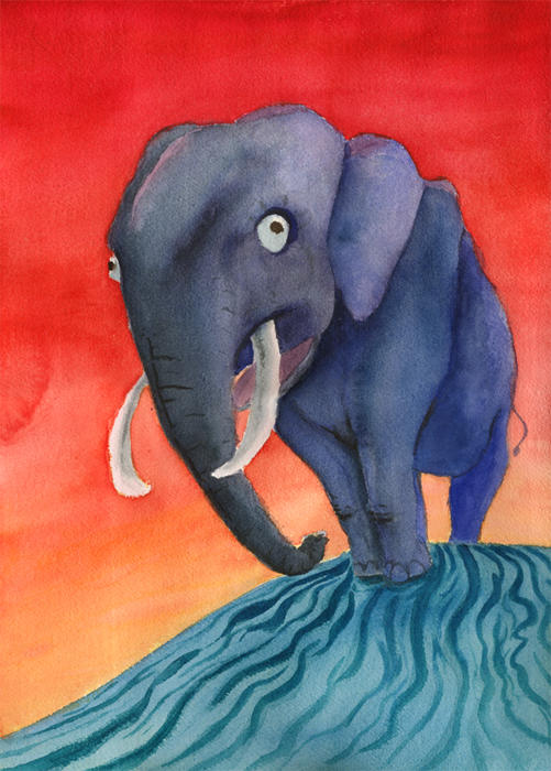 Elephanttricks by Tihvotti